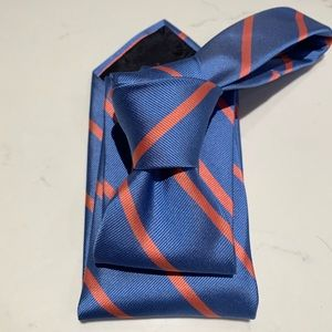 Brooks Bros Light Blue & Pink Striped Classic Tie
